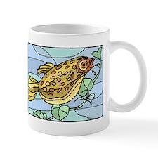 Spotted Puffer Fish Mugs