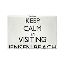 Keep calm by visiting Jensen Beach Florida Magnets