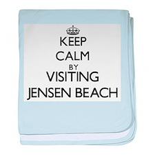 Cute Jensen beach baby blanket