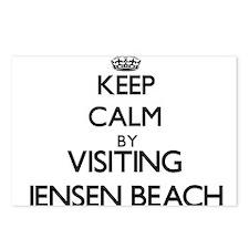 Cute Jensen beach florida Postcards (Package of 8)