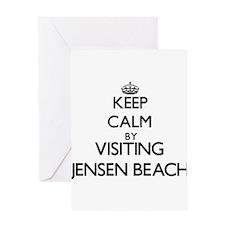 Keep calm by visiting Jensen Beach Florida Greetin