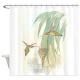 Hummingbird Shower Curtains
