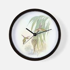Hummingbirds & Nests Wall Clock
