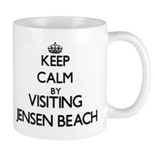Keep calm by visiting Jensen Beach Florida Mugs