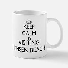 Keep calm by visiting Jensen Beach Florida Mugs