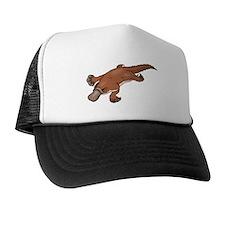 Brown Platypus Trucker Hat