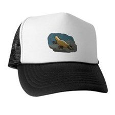 Platypus Underwater Trucker Hat