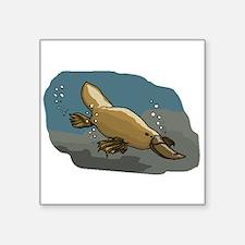 Platypus Underwater Sticker
