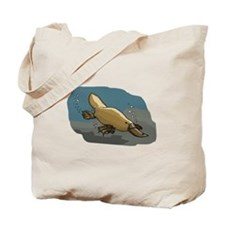Platypus Underwater Tote Bag