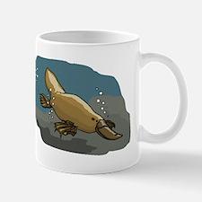 Platypus Underwater Mugs