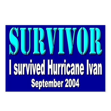 Hurricane Ivan Survivor Postcards (Package of 8)