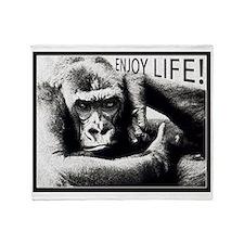 MonkeyLove Throw Blanket