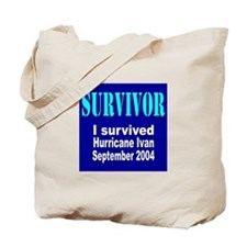 Hurricane Ivan Survivor Tote Bag