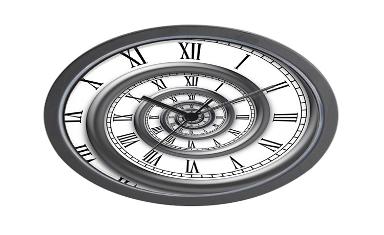 roman spiral wall clock seiko clocks amazon large at walmart target