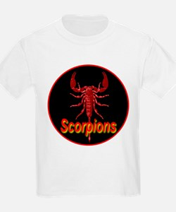 Ruby Red Scorpions T-Shirt