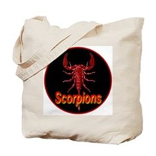 Ruby Red Scorpions Tote Bag