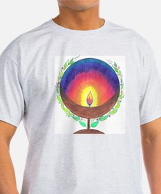 Rainbow Flame T-Shirt