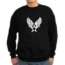 Winged Star Symbol Sweatshirt