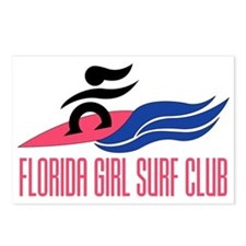 Florida Girl Surf Club Postcards (Package of 8)