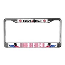 Florida Girl Surf Club License Plate Frame