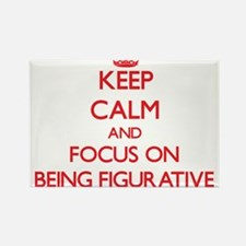 Keep Calm and focus on Being Figurative Magnets