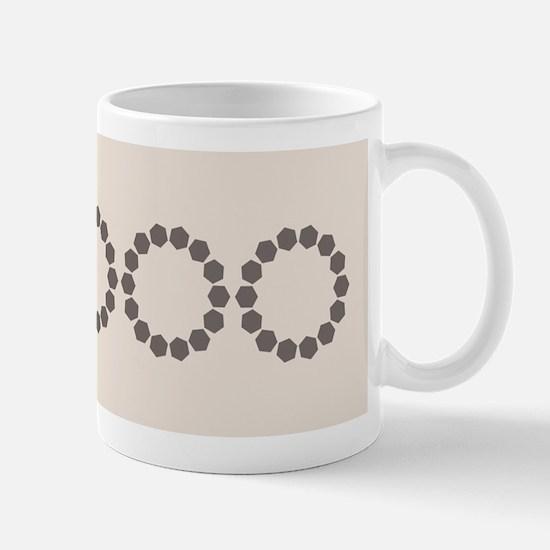 Divine Retro Classic Pastels Beige Mugs