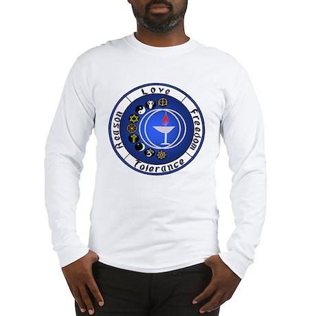 Circle Chalice_Principles Long Sleeve T-Shirt