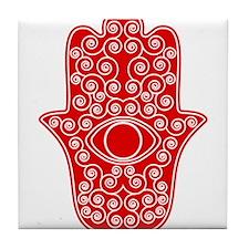 Cute Fatima Tile Coaster
