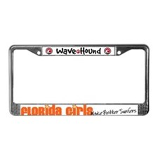 Florida Girls Make Better Surfers License Plate Fr