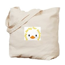 ducky derby Tote Bag