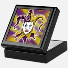 Joker Jester Comic Comedian Keepsake Box