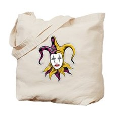 Joker Jester Comic Comedian Tote Bag