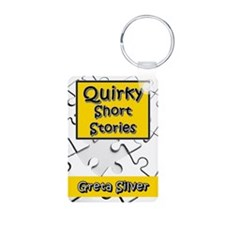 Quirky Short Stories Keychains