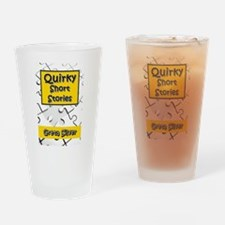 Quirky Short Stories Drinking Glass