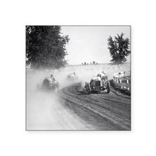 """Rockville Fair Auto Races,  Square Sticker 3"""" x 3"""""""