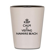 Cool Navarre beach florida Shot Glass