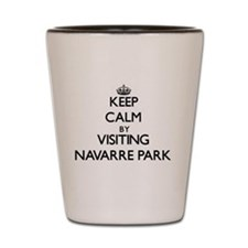 Navarre beach florida Shot Glass