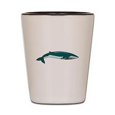 Blue Whale Shot Glass