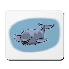 Pilot Whale Mousepad