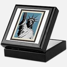 Lady Liberty Keepsake Box