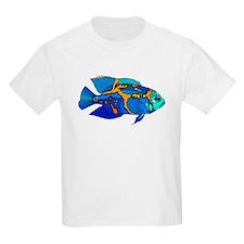 Blue Oscar Fish T-Shirt