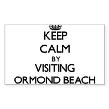 Keep calm by visiting Ormond Beach Florida Decal