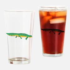 Green Newt Drinking Glass