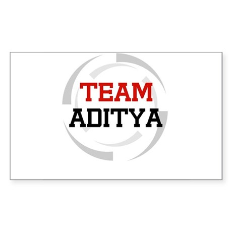 Aditya Rectangle Sticker