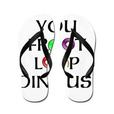 Froot Loop Dingus! Flip Flops