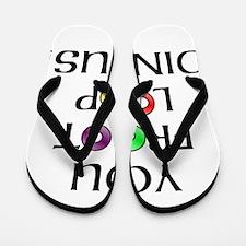 Froot Loop Dingus! Flip Flops