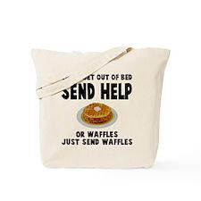 Send waffles Tote Bag