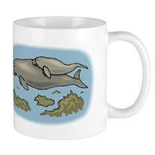Manatee And Calf Mugs