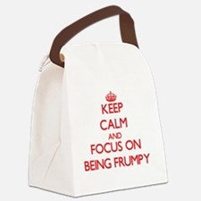 Funny Baggy Canvas Lunch Bag
