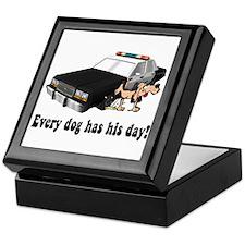 EVERY DOG HAS HIS DAY Keepsake Box